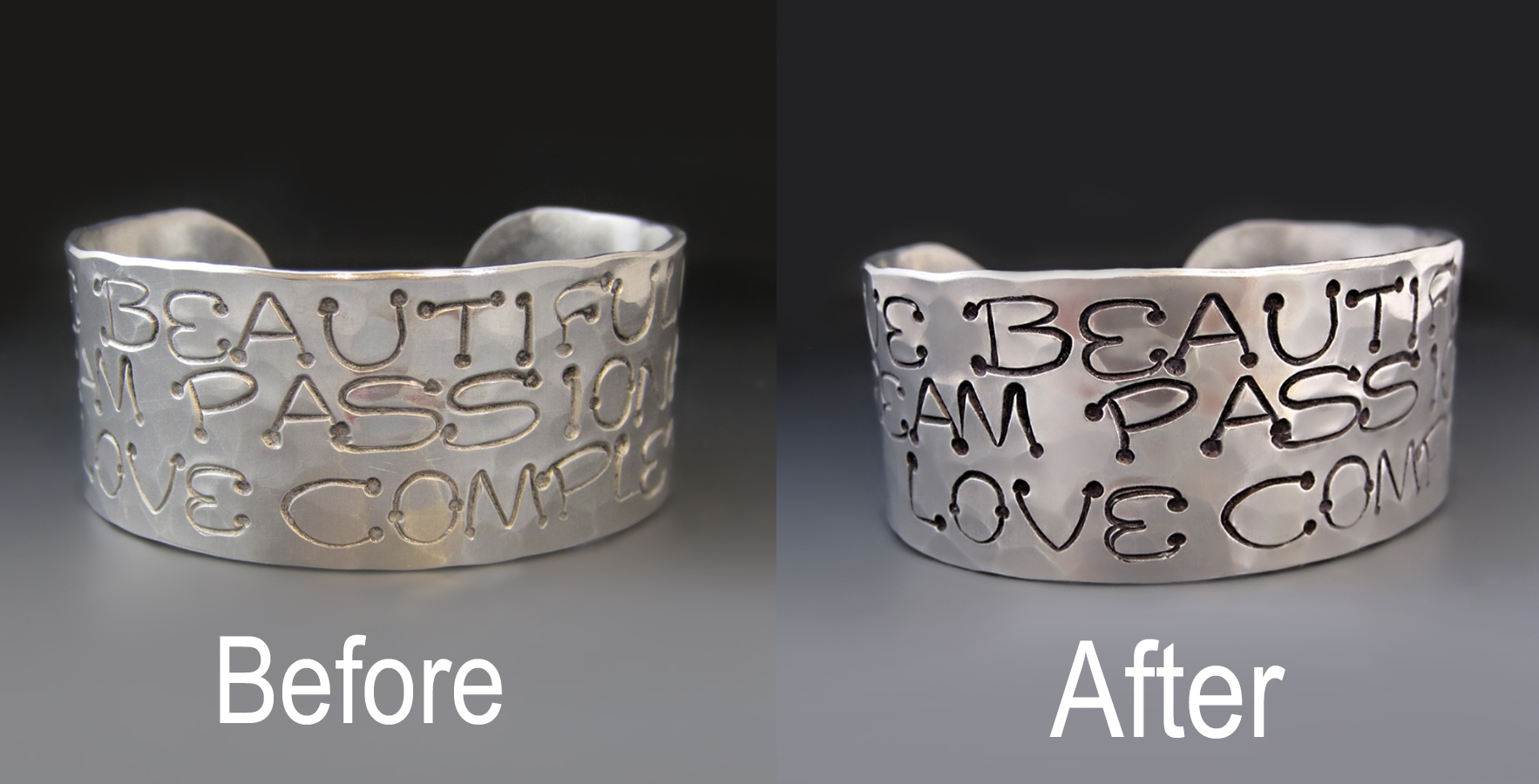 Caring For Your Hand Stamped Jewelry :  A Guide For Giving It a Facelift